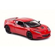 Lotus Evora S, Red - Motormax 79313R/6 - 1/24 Scale. Diecast Model Toy Car
