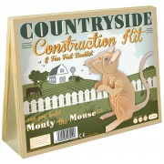 Professor Puzzle Countryside Construction Kit & Fun Fact Booklet - ...