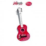 Minnie Guitarre En Bois Color 65 Cm