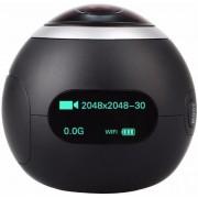 Camera video de Actiune 360 SJCAM SJ360-BK, Filmare 2K, 12.4 MP, Wi-Fi (Neagra)