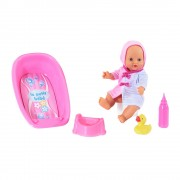 Loko pisilő baba fürdőkáddal és bilivel