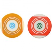 GSI Standard size Carrom Striker with Smooth surface and excellent re-bounce Pack of 2