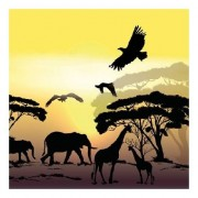 Ambiente 20 stuks servetten Afrika safari 3-laags
