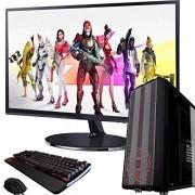 SUPERTIENDA Pc Gamer AMD Ryzen 5 3400g 8gb 1tb Radeon Vega 11 + Kit Gamer Led