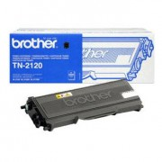 0 Brother TN2120 BK svart Lasertoner, Original