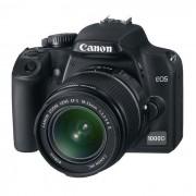 Refurbished-Very good-Reflex Canon EOS 1000D Black + Lens 18 55mm f/3.5-5.6 II