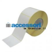 Etichette adesive in carta Vellum 100 x 72 mm per stampanti Industriali a trasferimento termico (ribbon necessario)