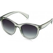 Fastrack Round, Oval Sunglasses(Grey)