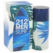 Carolina Herrera 212 Surf Eau De Toilette Spray (Limited Edition 2014) 3.4 oz / 100.55 mL Men's Fragrance 514531