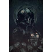 Gwiezdne Wojny Star Wars Skull Pilot - plakat premium