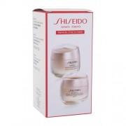 Shiseido Benefiance Anti-Wrinkle Day & Night Cream Set darčeková kazeta proti vráskam pre ženy denná pleťová starostlivosť Benefiance Wrinkle Smoothing Day Cream SPF25 50 ml + nočná pleťová starostlivosť Benefiance Wrinkle Smoothing Cream 50 ml