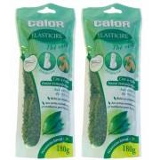 Calor Elasticire zöld tea viasz 180g YX1022 2db