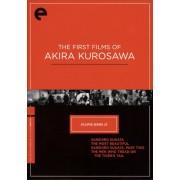 The First Films of Akira Kurosawa [Criterion Collection] [4 Discs] [DVD]