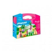 Playmobil - Maletín Grande Princesas y Unicornio - 70107