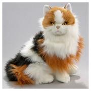 Soft Toy Cat, Calico, sitting 35cm. [Toy]