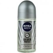 Nivea Men Silver Protect antitranspirante roll-on para hombre 48h 50 ml