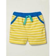 Baby Primelgelb/Weiß Basic-Jerseyshorts Baby Baby Boden, 80, Yellow