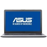 "Laptop ASUS VivoBook X542UA-DM597R (Procesor Intel® Core™ i5-8250U (6M Cache, up to 3.40 GHz), Kaby Lake R, 15.6"" FHD, 4GB, 500GB HDD @5400RPM, Intel® UHD Graphics 620, FPR, Wind10 Pro, Gri) + Bonus Intel Core i5 si i7 Software Pack ASUS"