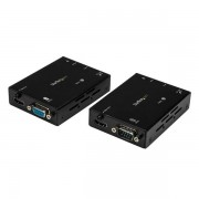 StarTech.com - Extensor Alargador HDMI 4K por Cable Ethernet CAT5 con Extensión de Infrarrojos para Mando y Serie R