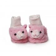 Geen Babyslofjes roze kat/poes