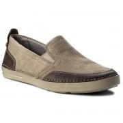 Обувки CLARKS - Gosler Race 261325807 Sage Suede