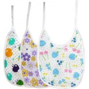 Tahiro MultiColour Cotton Printed Bibs For Kids - Pack Of 3