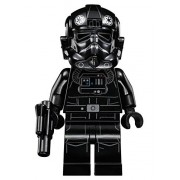 LEGO Star Wars Minifigure Tie Interceptor Fighter Pilot with blaster gun (75031)