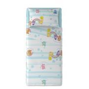 Completo Lenzuola Lettino Orsetti del Cuore Azzurro