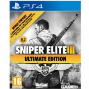 Sniper Elite III Ultimate Edition, DLC пакетите включват : Save Churchill DLC, Six Weapons Pack, Multiplayer Maps, Three Modes; за PS4