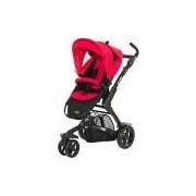 Carrinho de Bebê para Passeio ABC Design 3 TEC Cranberry Preto e Vermelho