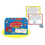 Super Duper Publications Context Clues in Stories Super Fun Deck Early Reading Flash Cards Educational Learning Toy for Kids
