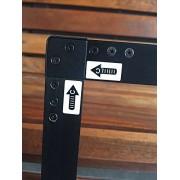 Xintai Touch 32 '' a 84 '' Panel táctil infrarrojo con 10 Puntos táctiles Reales, Kit de superposición de Marco táctil IR (60 Inches)