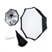 Softbox parasolkowy octagon Mitoya 80cm