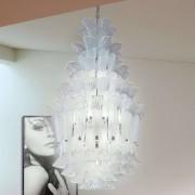 LamP Espectacular lámpara colgante PETALI, altura 110cm