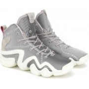 ADIDAS ORIGINALS CRAZY 8 ADV W Basketball Shoe For Women(Grey, Silver)