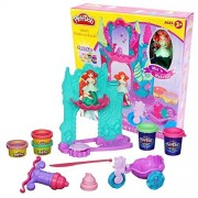 [Play-DOE] Play-Doh [Play Doe] Play-Doh ~ Disney Ariel Undersea Castle Disney Princess Ariel Undersea Castle wheat clay clay Toy Set