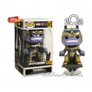 Thanos Trono Hot Topic Funko Pop Exclusivo Marvel Studios 2018