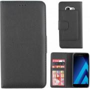 Hoesje Wallet Book Case voor Samsung Galaxy A5 (2017) Zwart