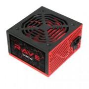 Захранване AeroCool Rave, 500W, Active PFC, 80 Plus, 120mm вентилатор