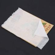 EH Bebé Pañal Pañales De Tela Biodegradable Flushable Camisas De Bambú/rollo De 100 Hojas - Blanco