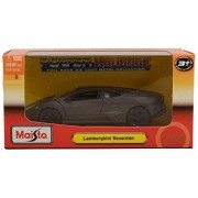 "Maisto Power Kruzerz 4.5"" Pull Back Action - Lamborghini Reventon Diecast Car (Grey)"