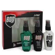 Parfums De Coeur Bod Man Fresh Guy + Black + World Class Body Sprays All In 1.5 oz / 44.36 mL Gift Set Men's Fragrances 543340
