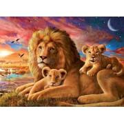 Пазл - «Семейство львов» 500 шт
