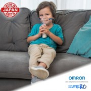 Aparat aerosoli OMRON U100 cu tehnologie MESH (ultrasunete), silentios, portabil, fabricat in Japonia, 3 ani garantie