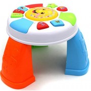 Verzabo Toddler Activity Table Learning Table Musical Play Set Kids Can Play Music, Learn Animal Sounds And Learn The Alphabet