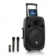 "Auna Streetstar 15, мобилна PA система, 15"" субуфер, BT/USB/SD/MP3/AUX, тролей (PAS4-Streetstar 2.0 15)"