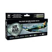 Vallejo FAA FLEET AIR ARM Colors 1939-1945 Air War Color Series Model Paint Kit