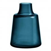 Holmegaard Flora Vas 24 cm Blå kort hals