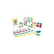 Linha Movimento 2 Sensoriais E Corp. - 65 Peças - Caixa De Papelão Colorido Carlu Brinquedos