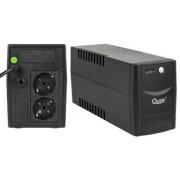 UPS Quer Micropower, 600VA/360W, 2 x Schuko (Negru)